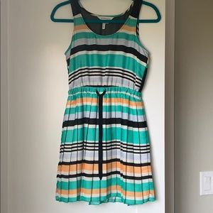 BCBGeneration Multicolor stripe dress